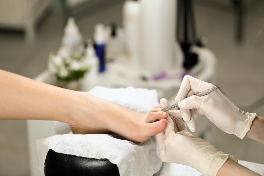 Medizinische Fußpflege Deluxe Behandlung