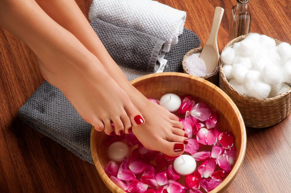 Medizinische Fußpflege Deluxe Fußbad