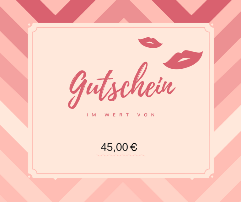 45 Euro Gutschein: Nagelstudio
