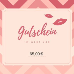Gutschein 65€ - Nagelstudio Gelsenkirchen -Villaran Nails